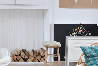 visite priv e une maison harmonieuse et po tique en tons pastels paperblog. Black Bedroom Furniture Sets. Home Design Ideas
