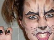 Halloween avec moyens bord Vilain chat!