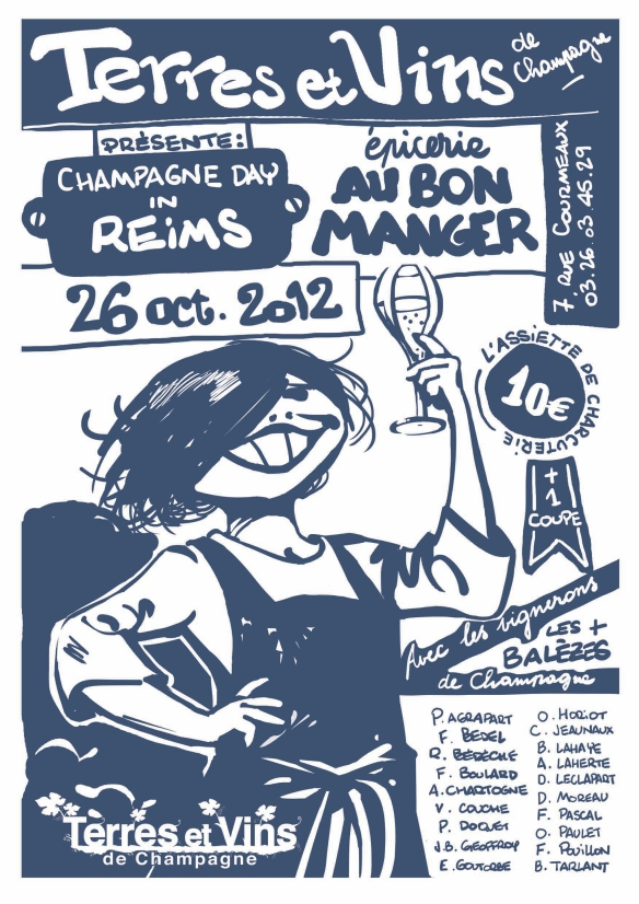 Où fêter le Champagne Day 2012 ? #champagneday