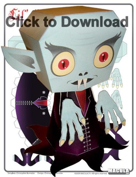 Nosferatu le vampire by Macula.tv