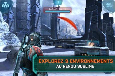 Mass Effect Infiltrator sur iPhone et iPad, passe à 0.89 € (au lieu de 5.49 €)...