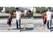 Lionel Messi: Ebahi gamin sans pied