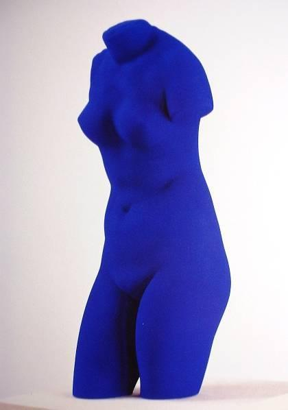 Yves Klein: Anthropométries...