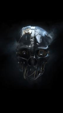 Fond d'écran pour iPhone 5 dishonored mask...