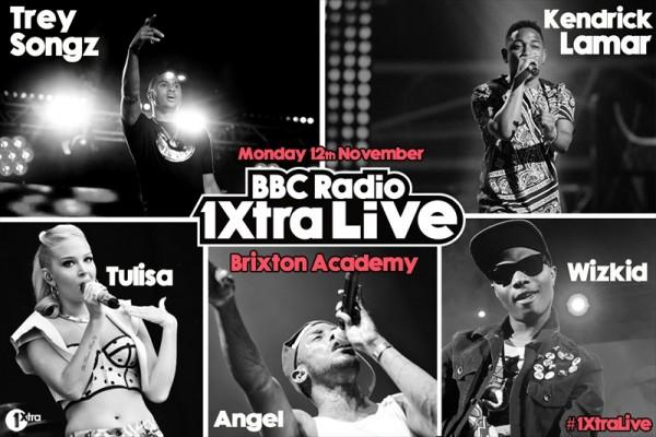 Wizkid to Perform Alongside Trey Songz, Kendrick Lamar & Tulisa at the BBC Radio 1Xtra Live Concert in November