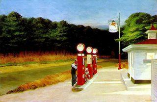 Hopper gas