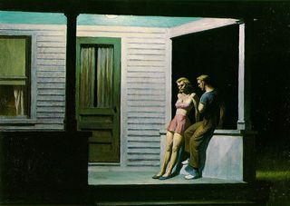 Hopper summer evening
