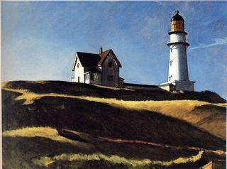 Hopper Lighthouse hill