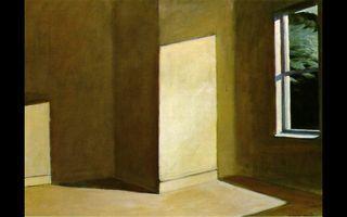 Hopper summer empty room