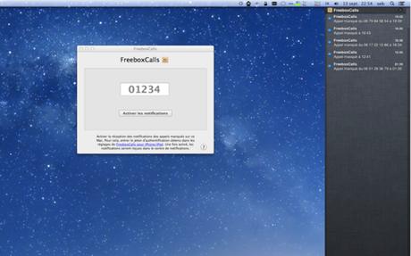 FreeboxCalls MacOSX Freebox Revolution   Les appels manqués affichés sur iPhone et Mac OS X