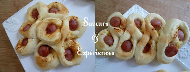 Fantaisies de Pains aux Saucisses