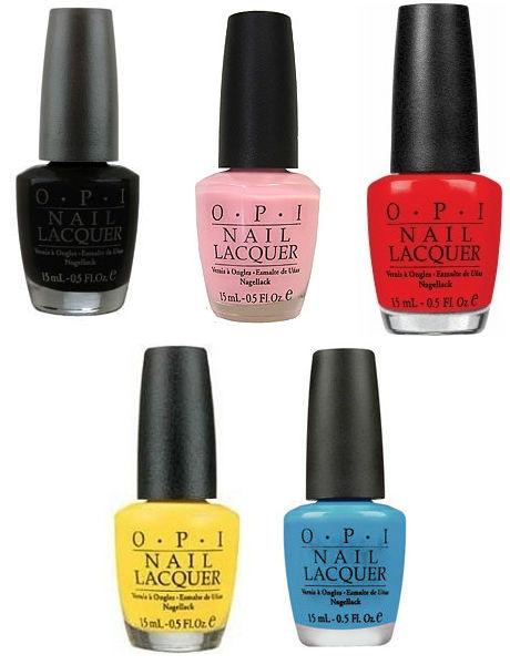 OPI Nouvelle collection