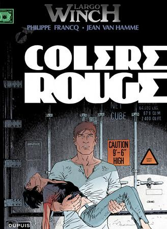 Largo Winch Colère rouge