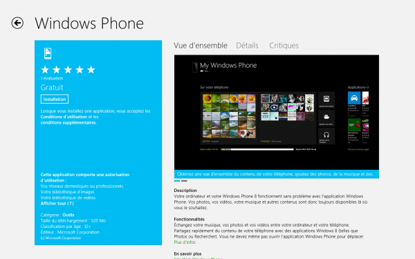Microsoft lance Windows Phone 8