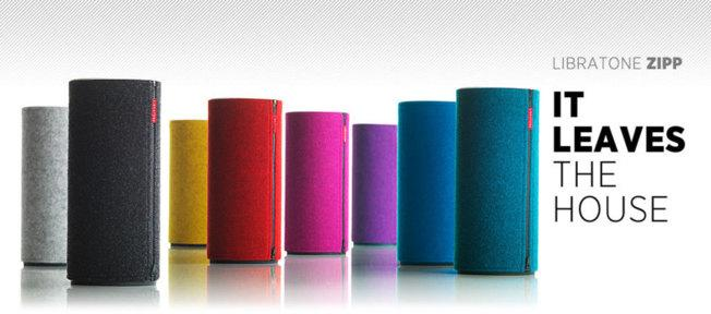 Libratone Zipp, l'enceinte nomade AirPlay iPhone et iPad...
