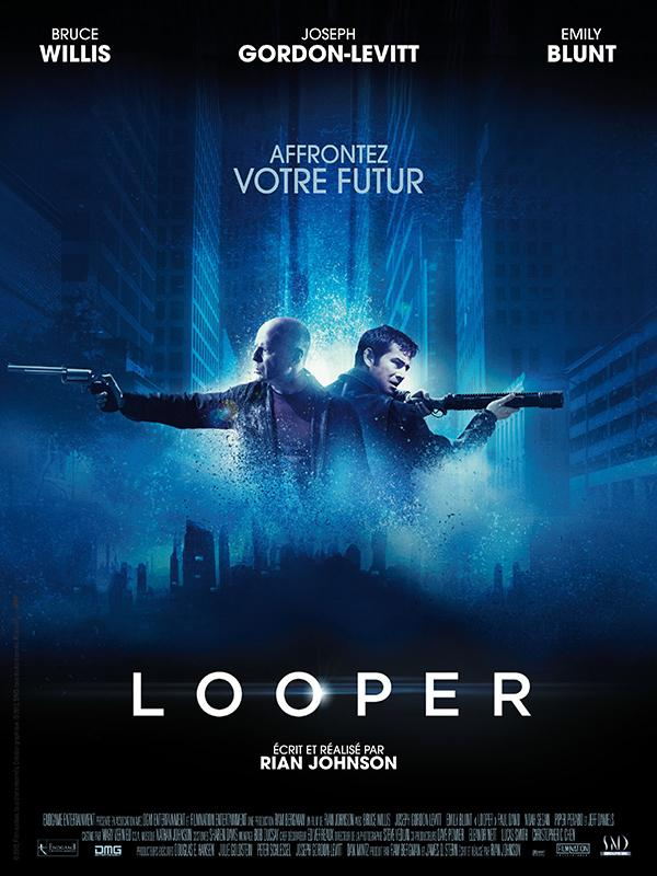 [Avis] Looper de Rian Johnson face à face Bruce Willis et Joseph Gordon-Levitt
