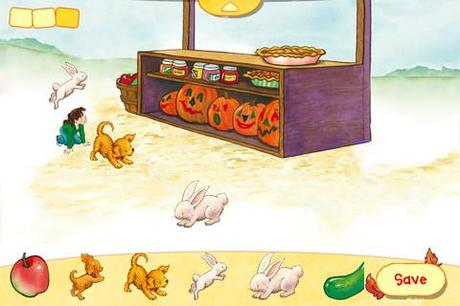 Biscuit visits the pumpkin patch par zuuka incorporated