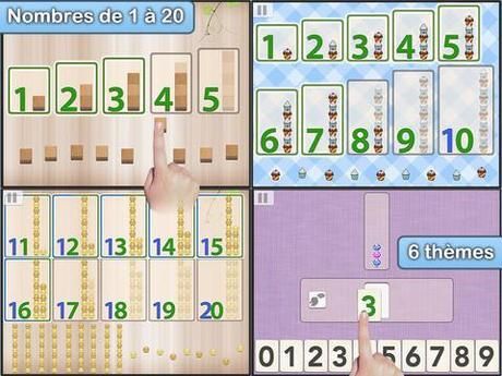 Les nombres Montessori et Montessori Numbers  par L'Escapadou