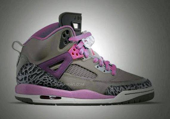 Air Jordan Spiz'ike GS Purple Earth