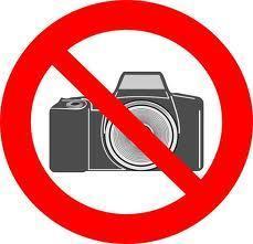 Interdit de photographier comme au musée
