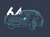 James Bond d'automobiles dans infographie interactive