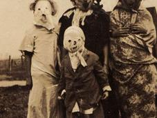 ans, premières photos d'Halloween