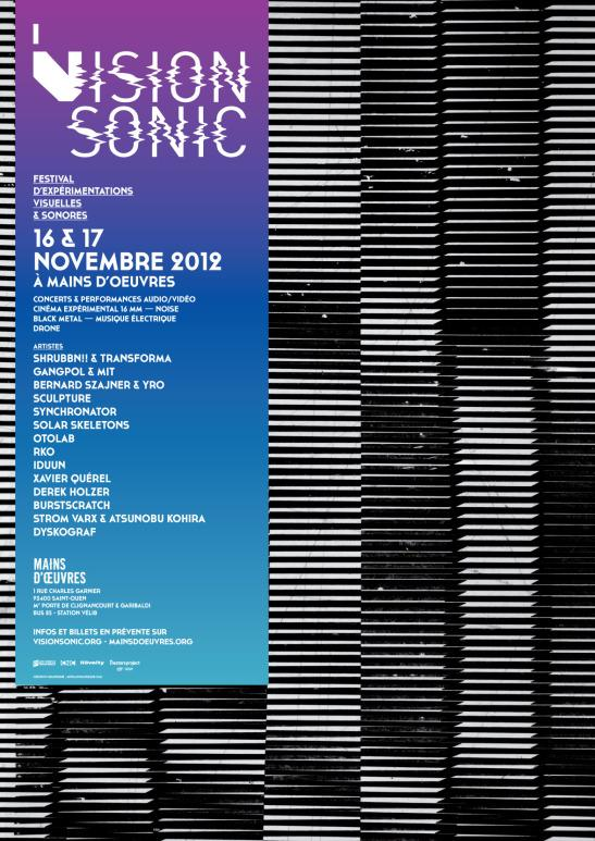 VISIONSONIC 2012 - Affiche