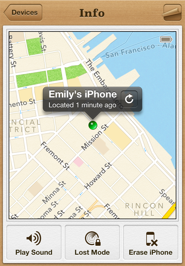 find my iphone log in tuto 171 localiser mon iphone 187 paperblog 7836