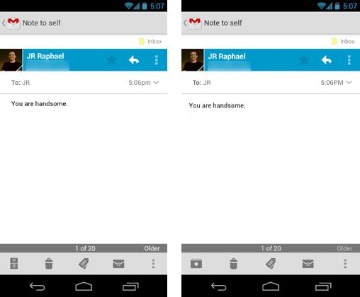 Android 4.2 – L'interface se beaugossify !