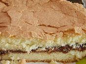 Gâteau savoie croustillant fourré philadelphia milka