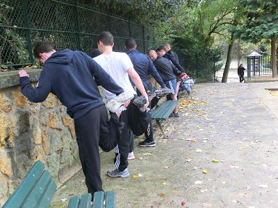 Boot camp Capra Paris - Cross-training