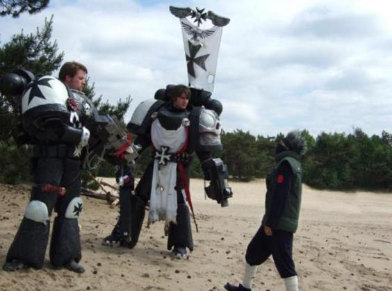 215026 md Black%20Templars%2C%20Cosplay%2C%20Space%20Marines Les Jeux de rôle et le Cosplay
