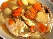 Bouillon poule légumes Poule