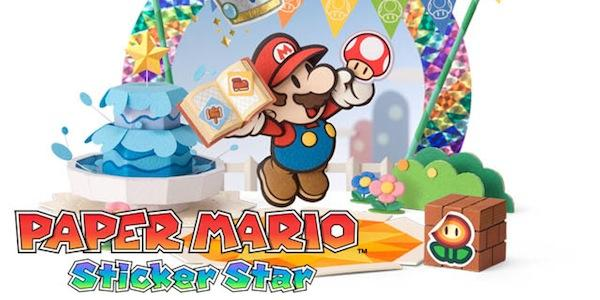 7 minutes de gameplay pour Paper Mario Sticker Star