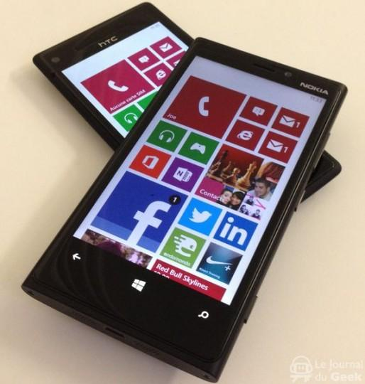 Test : Windows Phone 8