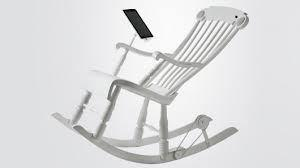 Le rocking-chair pour Ipad