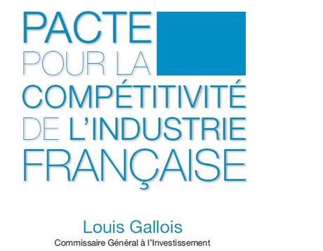 Le rapport Gallois (sur la compétitivité de l'industrie française)