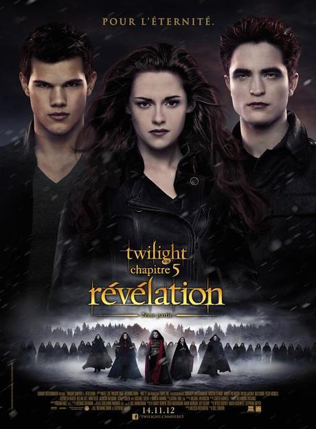 Les 5 Twilight d'affilée au Grand Rex le 13 novembre