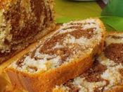 Cake marbré, vanille chocolat ultra moelleux