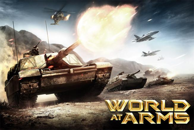 World at Arms sur iPhone, partez en guerre pour sauver la nation...