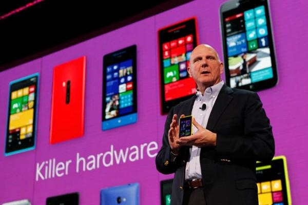 Steve Ballmer : les ventes de Windows Phone 8 vont décoller