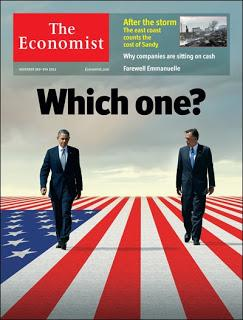 The Economist vote Obama, pour le reste rien ne change