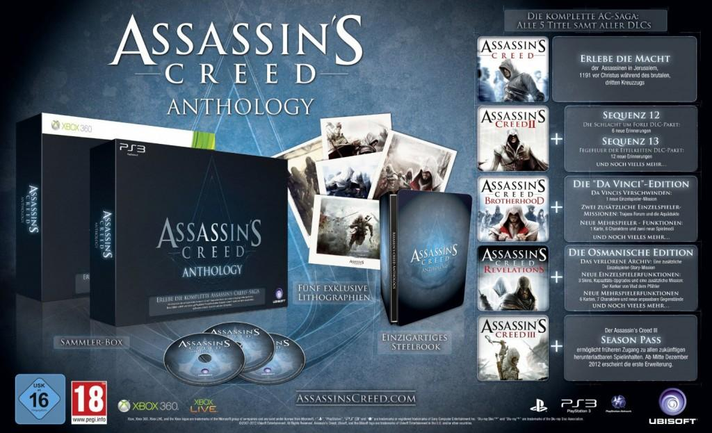 Assassin's Creed Anthology confirmé