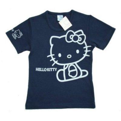Tshirt Bleu hello Kitty