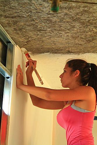 Plâtre Et Peinture Dans Notre Villa