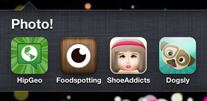 photo thumb1 Dogsly, Shoe Addicts, HipGeo et Foodspotting: 4 apps photo ciblées qui valent le détour