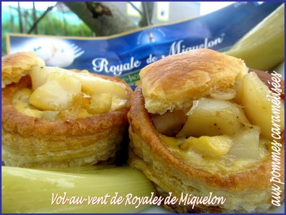 Vol-au-vent de royale de Miquelon