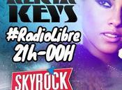 Evènement Alicia Keys débarque lundi soir Skyrock dans Radio Libre