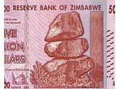 Zimbabwe quatre ans, deuxième plus grande hyperinflation monde