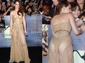 nouvelle robe très transparente Kristen Stewart